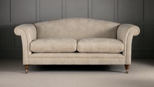 Обивка дивана флоком в Студии Диванов